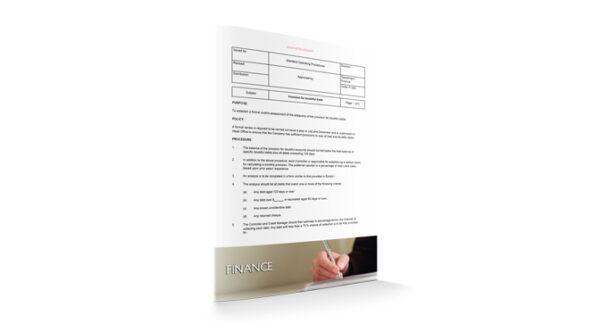 Provision for Doubtful Debt, Finance, by Sopforhotel.com