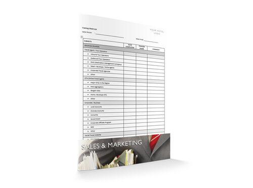 Training Check List, Sales & Marketing, by Sopforhotel.com