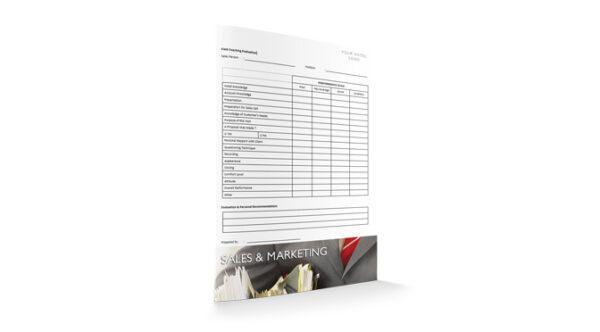 Field Coaching Evaluation, Sales & Marketing, by Sopforhotel.com