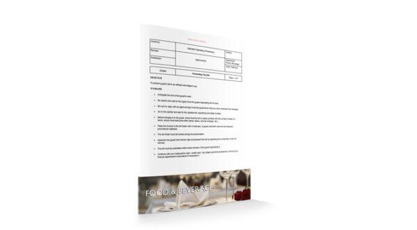 Presenting The Bill, Food & Beverage, by Sopforhotel.com