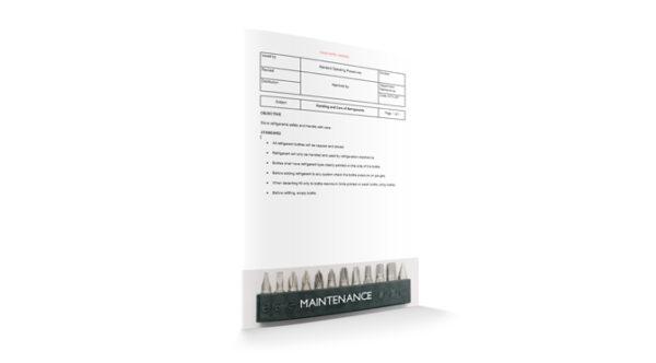 Handling and Care of Refrigerants, Maintenance, by Sopforhotel.com