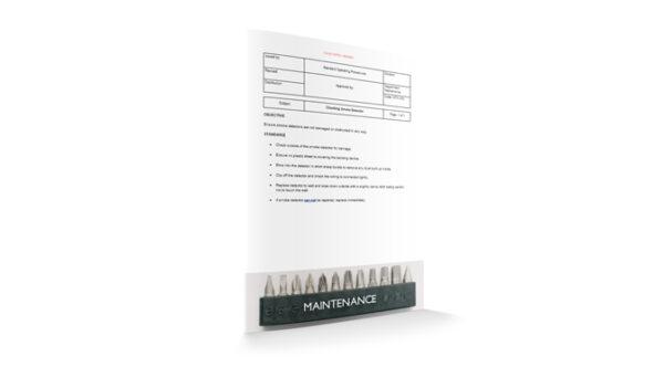 Checking Smoke Detector, Maintenance, by Sopforhotel.com