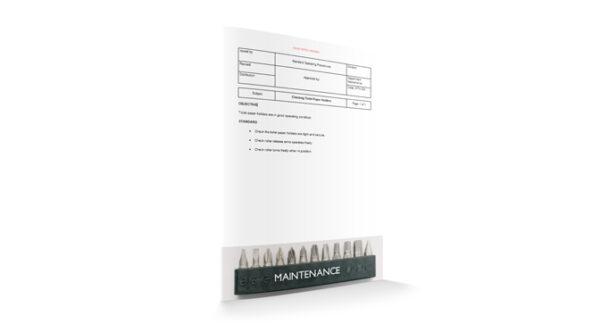 Checking Toilet Paper Holders, Maintenance, by Sopforhotel.com
