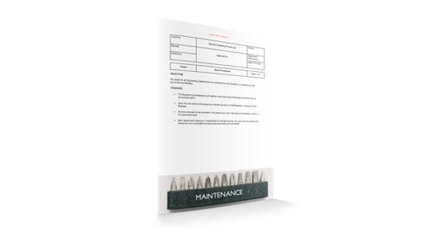 Store Procedures, Maintenance, by Sopforhotel.com
